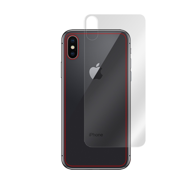 OverLay Brilliant for iPhone X 背面用保護シート