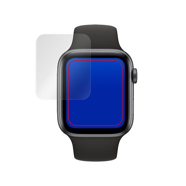 Apple Watch Series6 40mm 保護 フィルム OverLay Brilliant for Apple Watch Series 6 / SE / 5 / 4 40mm 2枚組 液晶保護 指紋がつきにくい 防指紋 高光沢 アップルウォッチ 6 / SE / 5 / 4 40mm