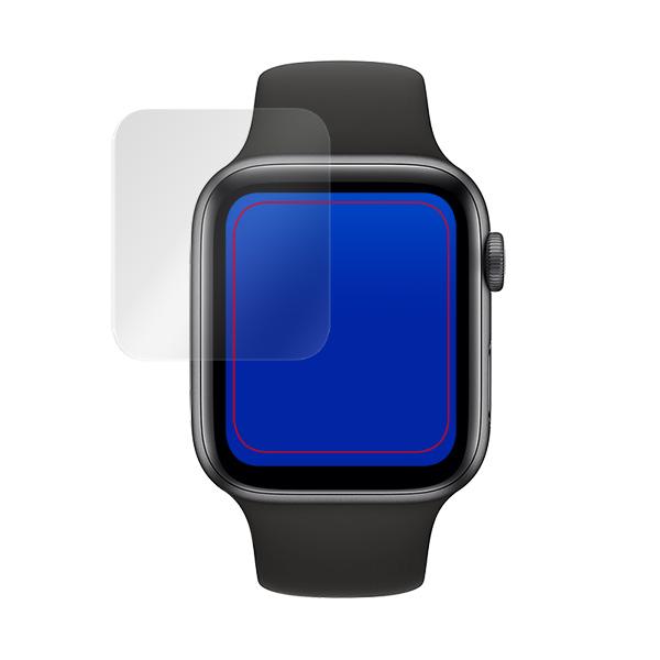 Apple Watch Series6 44mm 保護 フィルム OverLay Plus for Apple Watch Series 6 / SE / 5 / 4 44mm 2枚組 液晶保護 アンチグレア 低反射 非光沢 防指紋 アップルウォッチ 6 / SE / 5 / 4 44mm