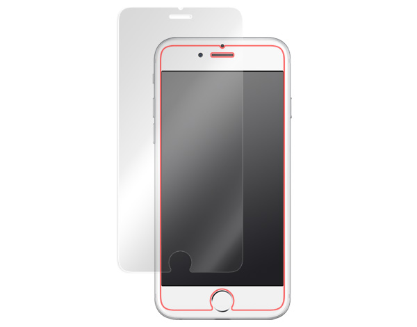 GLASS PRO+ Premium Tempered Glass Screen Protection(バックボタン機能付き) for iPhone 6s/iPhone 6