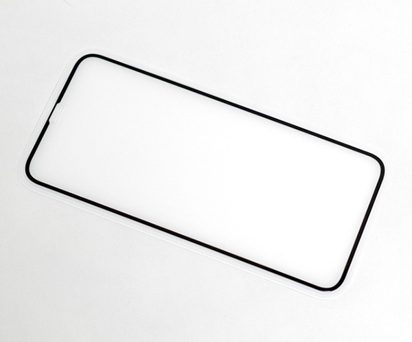 Deff TOUGH GLASS フチありブルーライトカットタイプ for iPhone XR(ブラック)