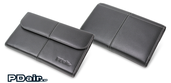 PDAIR レザーケース for Acer ICONIA TAB A100 ビジネスタイプ(ブラック)