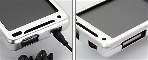 PDAIR アルミケース for HTC Aria(S31HT)