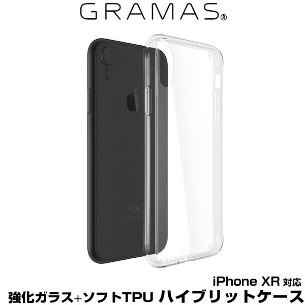 "GRAMAS COLORS ""Glass Hybrid"" Shell Case for iPhone XR"