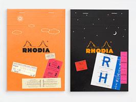 ロディア ディ&ナイト THE bloc memo RHODIA Day & Night ロディアNo.16 2冊セット
