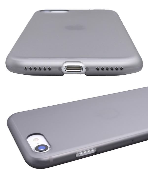 iPhone SE 第2世代 2020 背面ケース Air jacket for iPhone SE 第2世代 (2020) / iPhone 8 パワーサポート エアージャケット アイフォーンSE2 2020 アイフォーン8