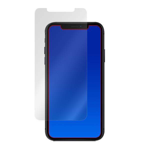 iPhone 11 / XR 保護 フィルム OverLay Absorber for iPhone 11 / XR 衝撃吸収 低反射 ブルーライトカット アブソーバー 抗菌 アイフォン 11 アイフォンテンアール