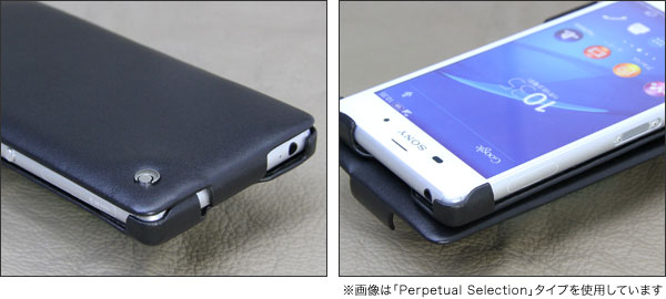 Noreve Perpetual Couture Selection レザーケース for Xperia (TM) Z3 SO-01G/SOL26/401SO