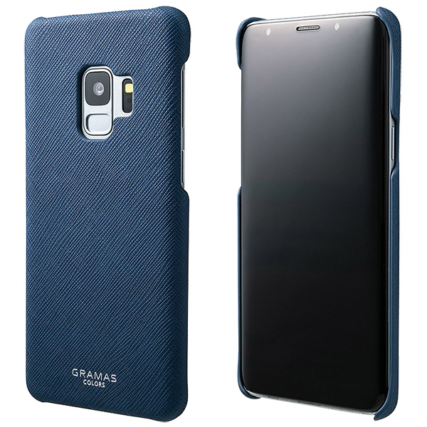 """GRAMAS COLORS """"EURO Passione"""" Shell PU Leather Case CSC-61118 for Galaxy S9 SC-02K / SCV38"""