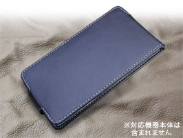 PDAIR レザーケース for GALAXY Note Edge SC-01G/SCL24 縦開きタイプ