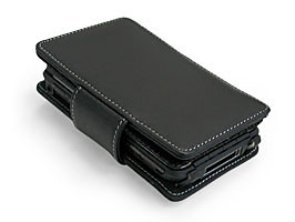 PDAIR Leather Case for CLIE TH55 横開きタイプ