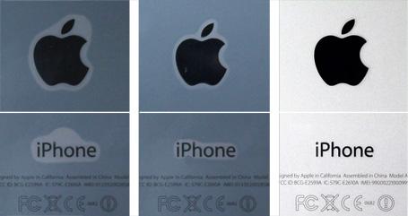 OverLay Brilliant for iPhone SE / 5s 裏面用保護シート
