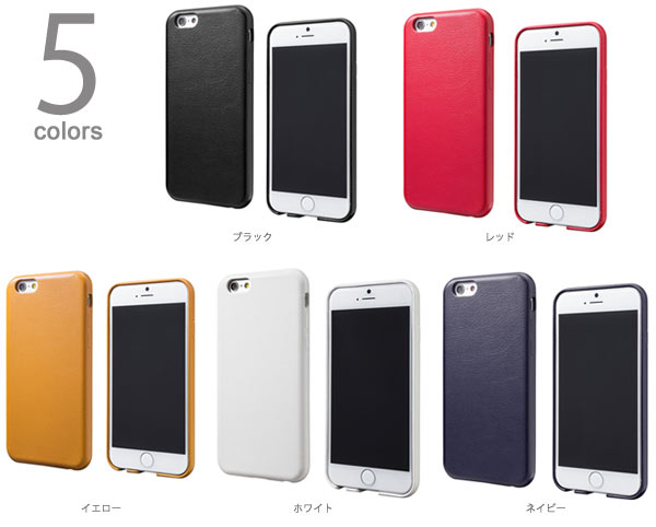 GRAMAS HL264 Helium Super Thin PU Leather Case for iPhone 6