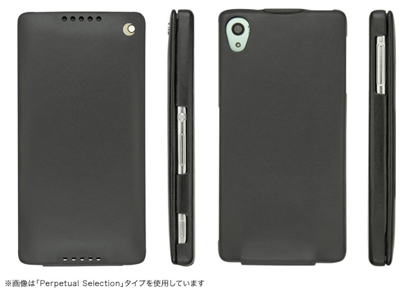 Noreve Perpetual Couture Selection レザーケース for Xperia (TM) Z4 SO-03G/SOV31/402SO