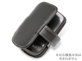 PDAIR レザーケース for IDEOS/Pocket WiFi S(S31HW) 横開きタイプ