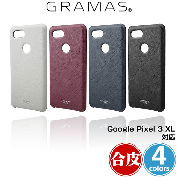 """Google Pixel 3 XL 用 GRAMAS COLORS """"EURO Passione"""" PU Leather Shell Case for Google Pixel 3 XL グラマス グーグル ピクセル"""