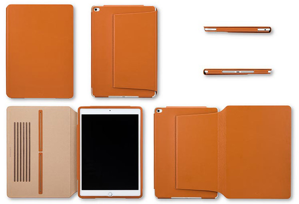 GRAMAS Tablet Leather Case TC495 for iPad Air 2
