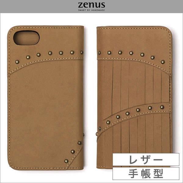 iPhoneSE 第2世代 2020 手帳型ケース Zenus Fringe Diary for iPhone SE 第2世代 (2020) / iPhone 8 / iPhone 7 アイフォーンSE2 2020 アイフォーン8 アイフォーン7 Zenus(ゼヌス)