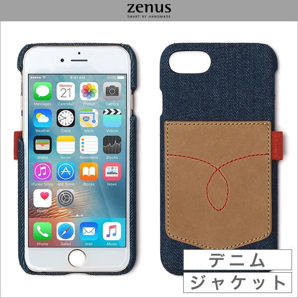 iPhoneSE 第2世代 2020 スマホケース Zenus Denim Vintage Pocket Bar for iPhone SE 第2世代 (2020) / iPhone 8 / iPhone 7 アイフォーンSE2 2020 アイフォーン8 アイフォーン7 Zenus(ゼヌス)