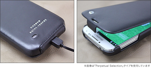 Noreve Ambition Selection レザーケース for GALAXY S4 SC-04E