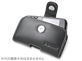 PDAIR レザーケース for BlackBerry Curve 9300 ポーチタイプ