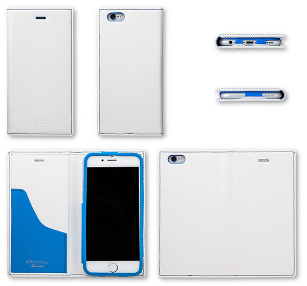 GRAMAS Full Leather Case Tricolor Limited LC634L3 for iPhone 6