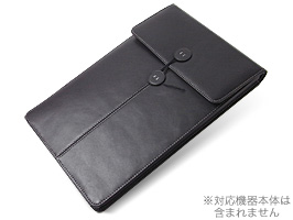 PDAIR レザーケース for MacBook Air 11インチ(Early 2015/Early 2014/Mid 2013/Mid 2012/Mid 2011/Late 2010) バーティカルポーチタイプ