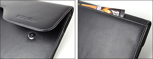 PDAIR レザーケース for MacBook Air 11インチ(Early 2015/Early 2014/Mid 2013/Mid 2012/Mid 2011/Late 2010) ポーチタイプ