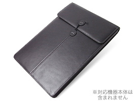 PDAIR レザーケース for MacBook Air 13インチ(Early 2015/Early 2014/Mid 2013/Mid 2012/Mid 2011/Late 2010) バーティカルポーチタイプ