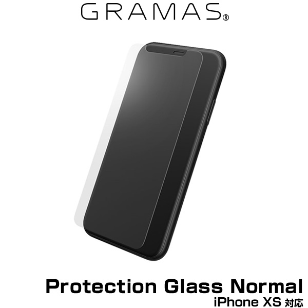 GRAMAS Protection Glass Normal GGL-32318NML for iPhone XS