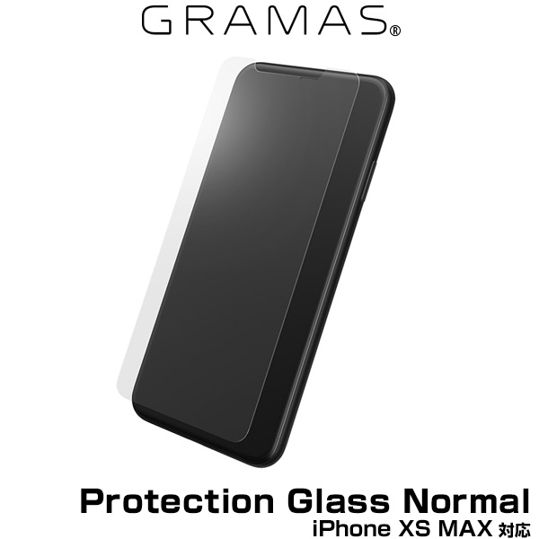 GRAMAS Protection Glass Normal GGL-32418NML for iPhone XS MAX