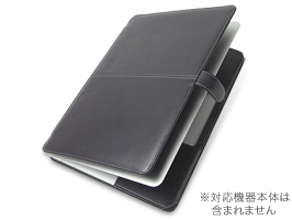PDAIR レザーケース for MacBook Air 13インチ(Early 2015/Early 2014/Mid 2013/Mid 2012/Mid 2011/Late 2010) 横開きタイプ