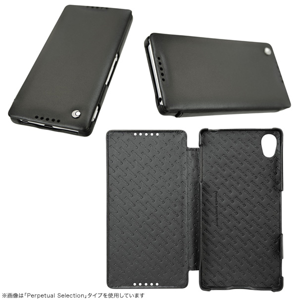 Noreve Perpetual Couture Selection レザーケース for Xperia (TM) Z4 SO-03G/SOV31/402SO 横開きタイプ