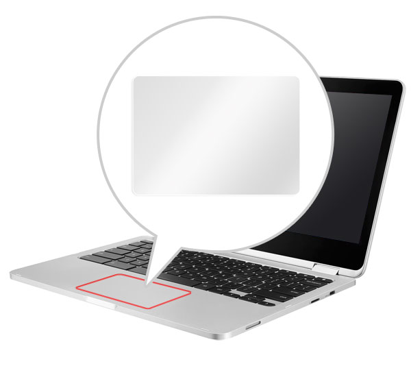OverLay Protector for トラックパッド ASUS Chromebook Flip C302CA