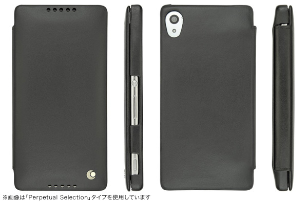 Noreve Ambition Couture Selection レザーケース for Xperia (TM) Z4 SO-03G/SOV31/402SO 横開きタイプ