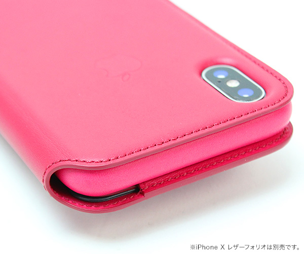 iPhone 11 Pro / iPhone XS / X 用 例の板 for iPhone 11 Pro / iPhone XS / X (2枚セット) Apple純正ケース「iPhone 11 Pro / iPhone XS / X レザーフォリオ」に対応 アイフォーン11プロ アイフォーンテンエス
