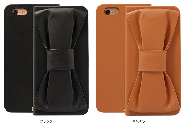 SWEET LABEL Ribbon Corsage Case for iPhone 6s/6