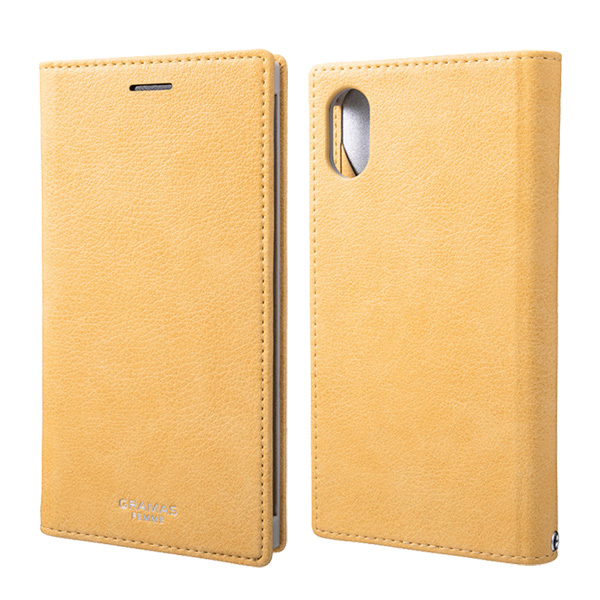 """GRAMAS FEMME """"Colo"""" PU Leather Book Case FLC-62338 for iPhone XS"""