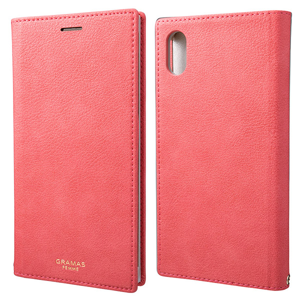 """GRAMAS FEMME """"Colo"""" PU Leather Book Case FLC-62438 for iPhone XS Max"""