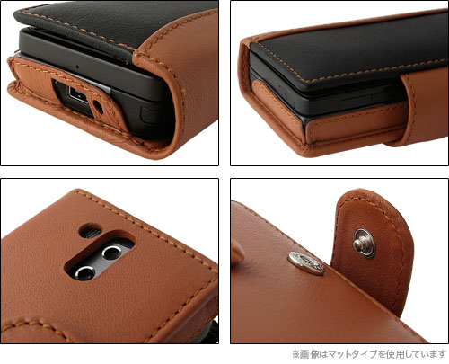 Piel Frama クロコダイル調 レザーケース for HTC Touch Pro(HT-01A/X05HT)