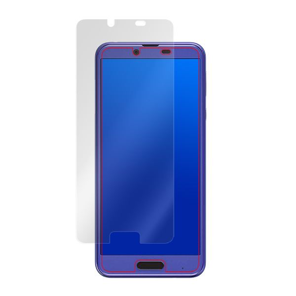 OverLay Plus for AQUOS sense plus SH-M07 / Android One X4 表面用保護シート