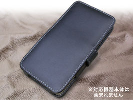 PDAIR レザーケース for ASUS ZenFone 5 (A500KL) 横開きタイプ