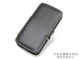 PDAIR レザーケース for AQUOS PHONE CL IS17SH/IS13SH 横開きタイプ