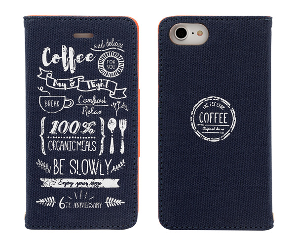 Cafe Style Case for iPhone 8 / iPhone 7