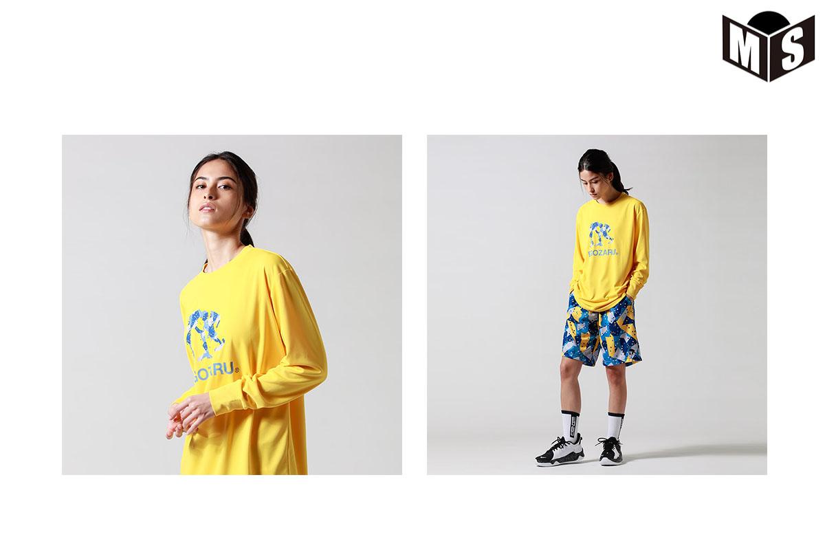【4色展開】エゴザル EGOZARU P.D.C. LOGOロングTシャツ【EZLT-F2120】