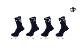 【8色展開】【2足購入でメール便送料無料】インザペイント IN THE PAINT ソックス【ITP21339MS】