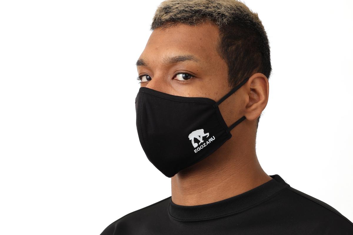 エゴザル EGOZARU マスク(ブラック)【EZAC-20】【返品・交換不可】