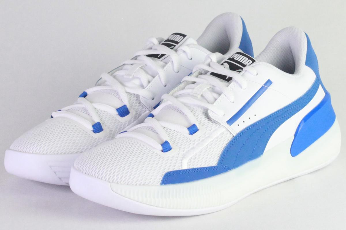 ★▲プーマ PUMA クライドハードウッドチーム CLYDE HARDWOOD TEAM(Puma White-Strong Blue)【194454-05】