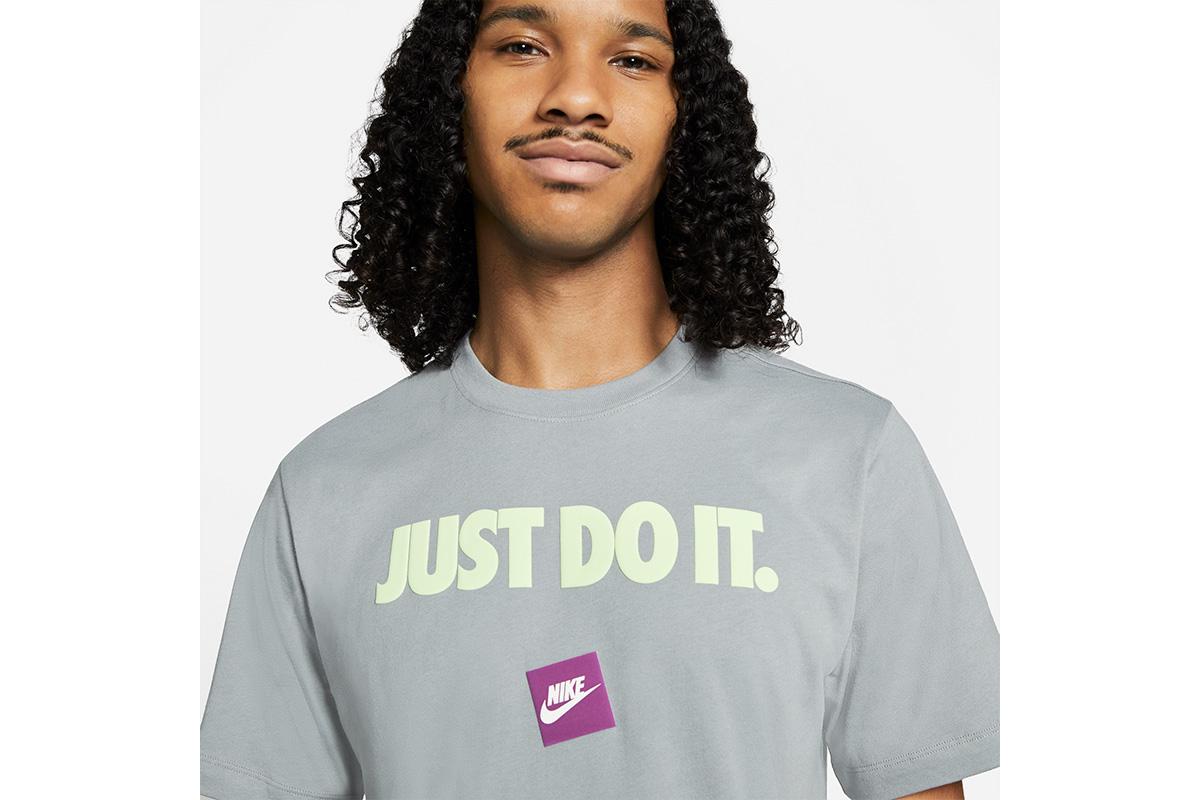 ナイキ NIKE JDI 12MONTH Tシャツ(パーティクルグレー)【DB6474-073】