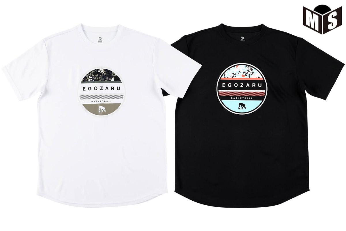 【2色展開】エゴザル EGOZARU CIRCLE LEOPARD Tシャツ【EZST-2104】